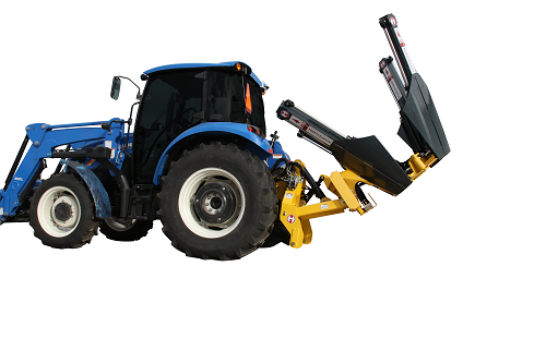 Tractor mounted tree spade